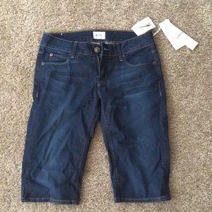 Hudson Viceroy Knee Short Size 26 NWT